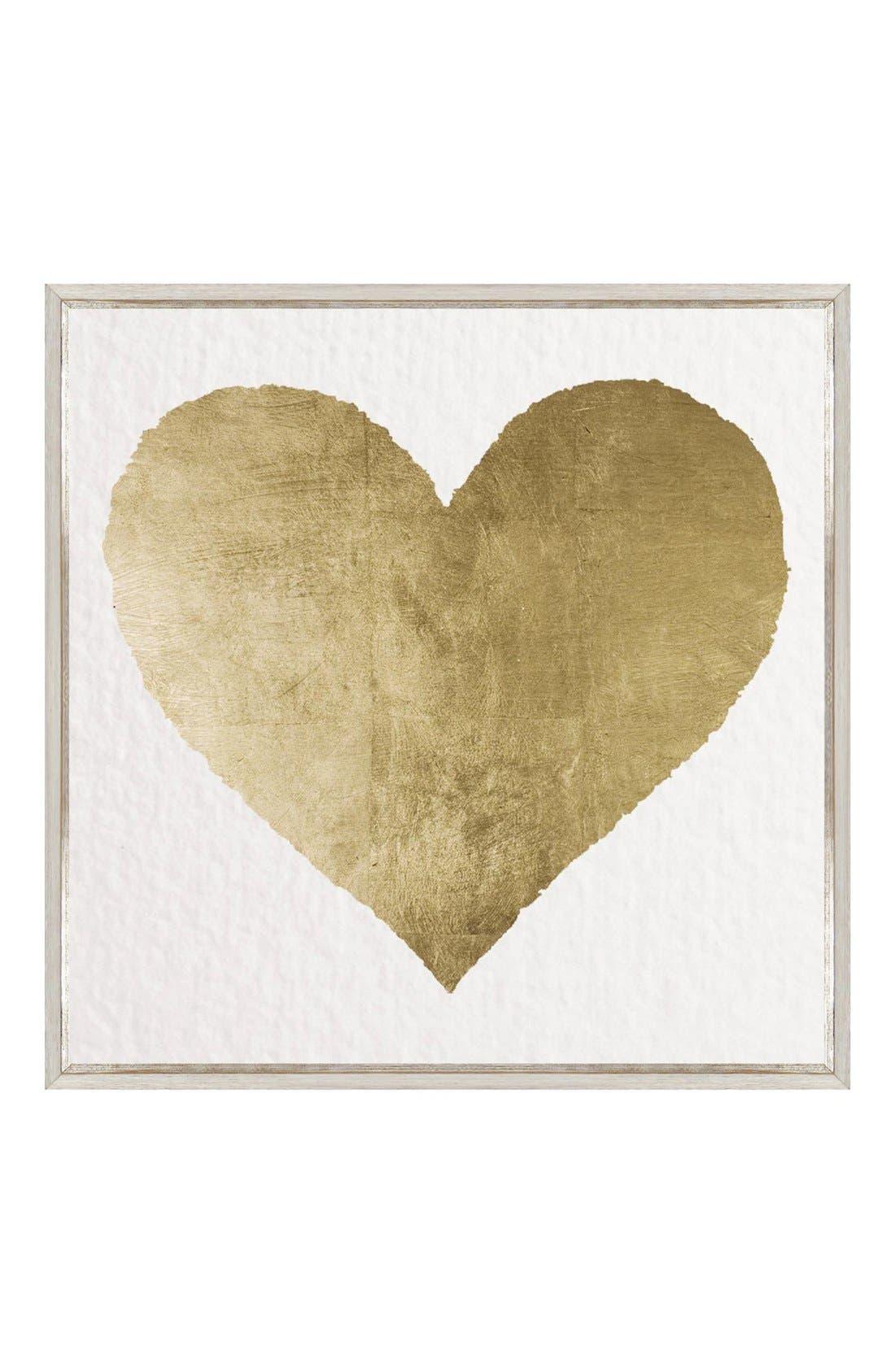 Alternate Image 1 Selected - Oliver Gal 'Forever & Ever' Framed Canvas Print
