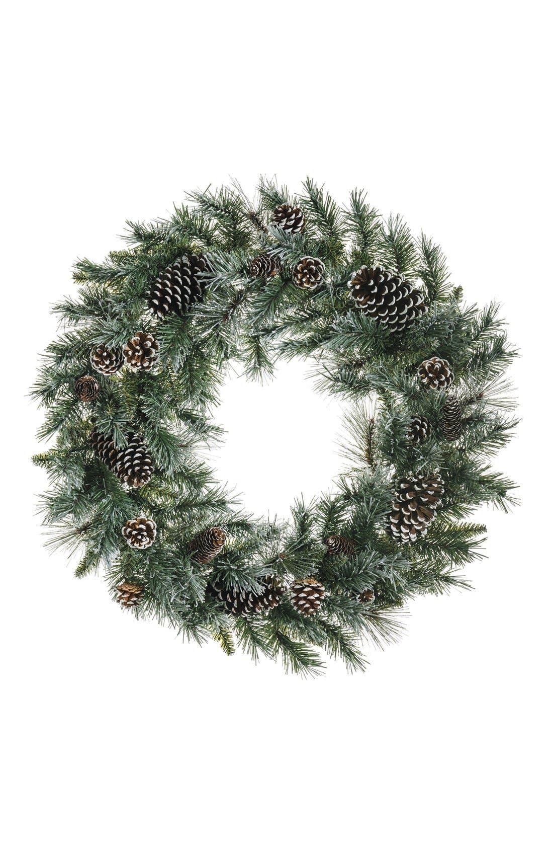 Main Image - ALLSTATE Pinecone Wreath