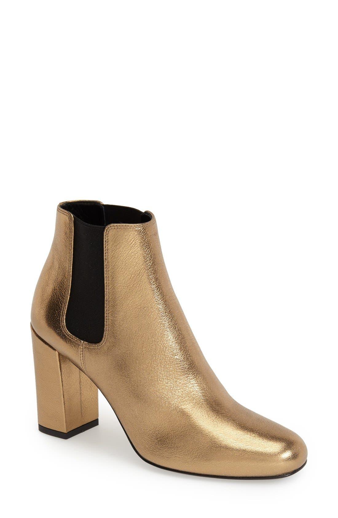 Main Image - Saint Laurent 'Babies' Chelsea Boot (Women)