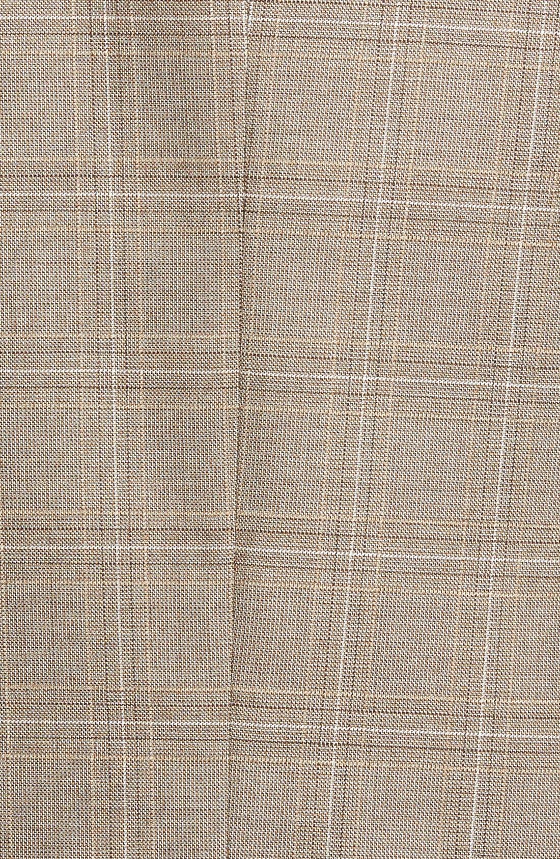 Alternate Image 3  - BOSS 'Jarett' Trim Fit Plaid Wool Blend Sport Coat