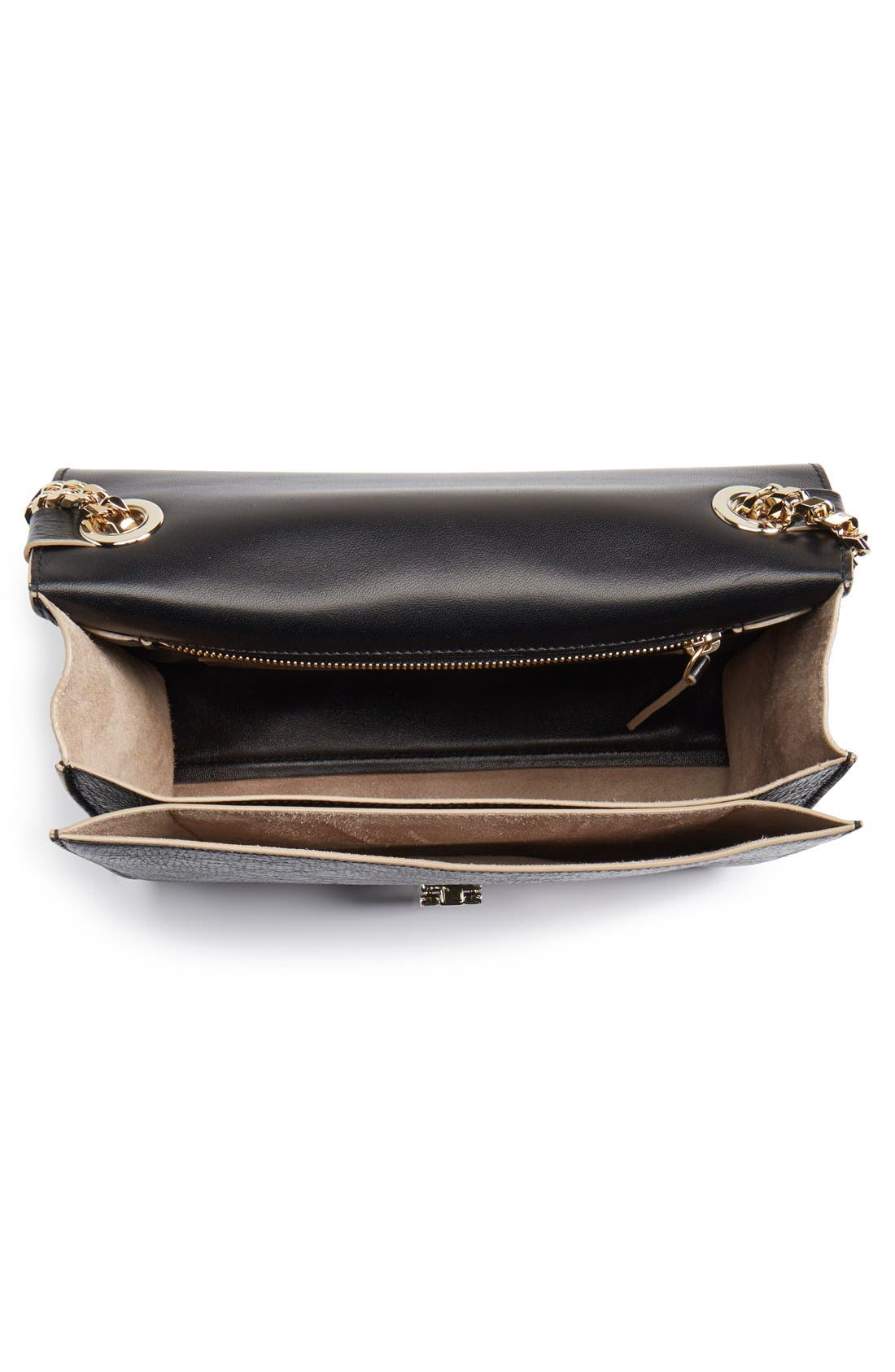 Alternate Image 4  - Jimmy Choo 'Rebel' Washed Leather Shoulder Bag