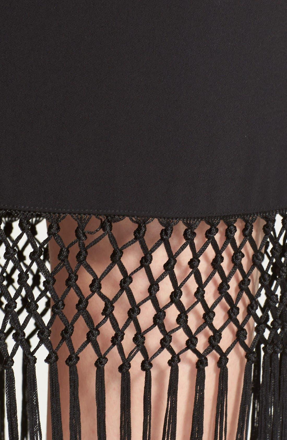 Alternate Image 3  - Trina Turk 'Luciana' Crochet Fringe Pencil Skirt