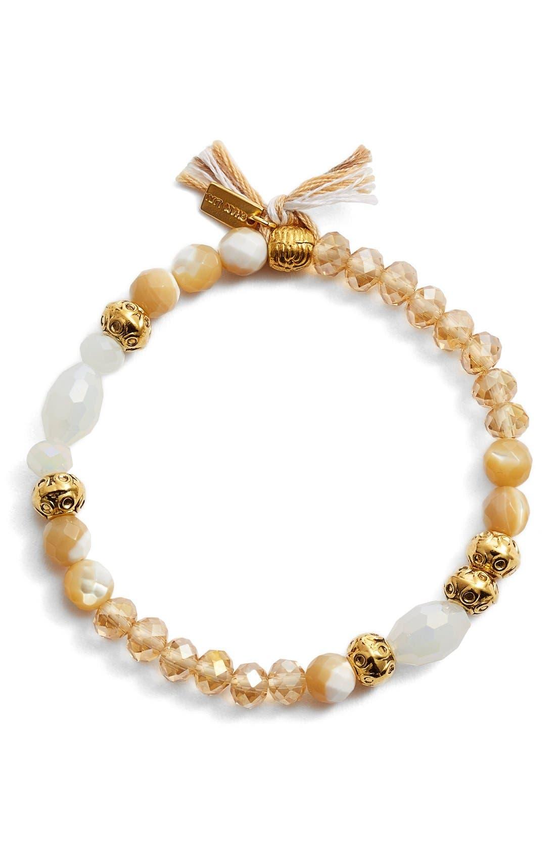 Alternate Image 1 Selected - Chan Luu Beaded Stretch Bracelet