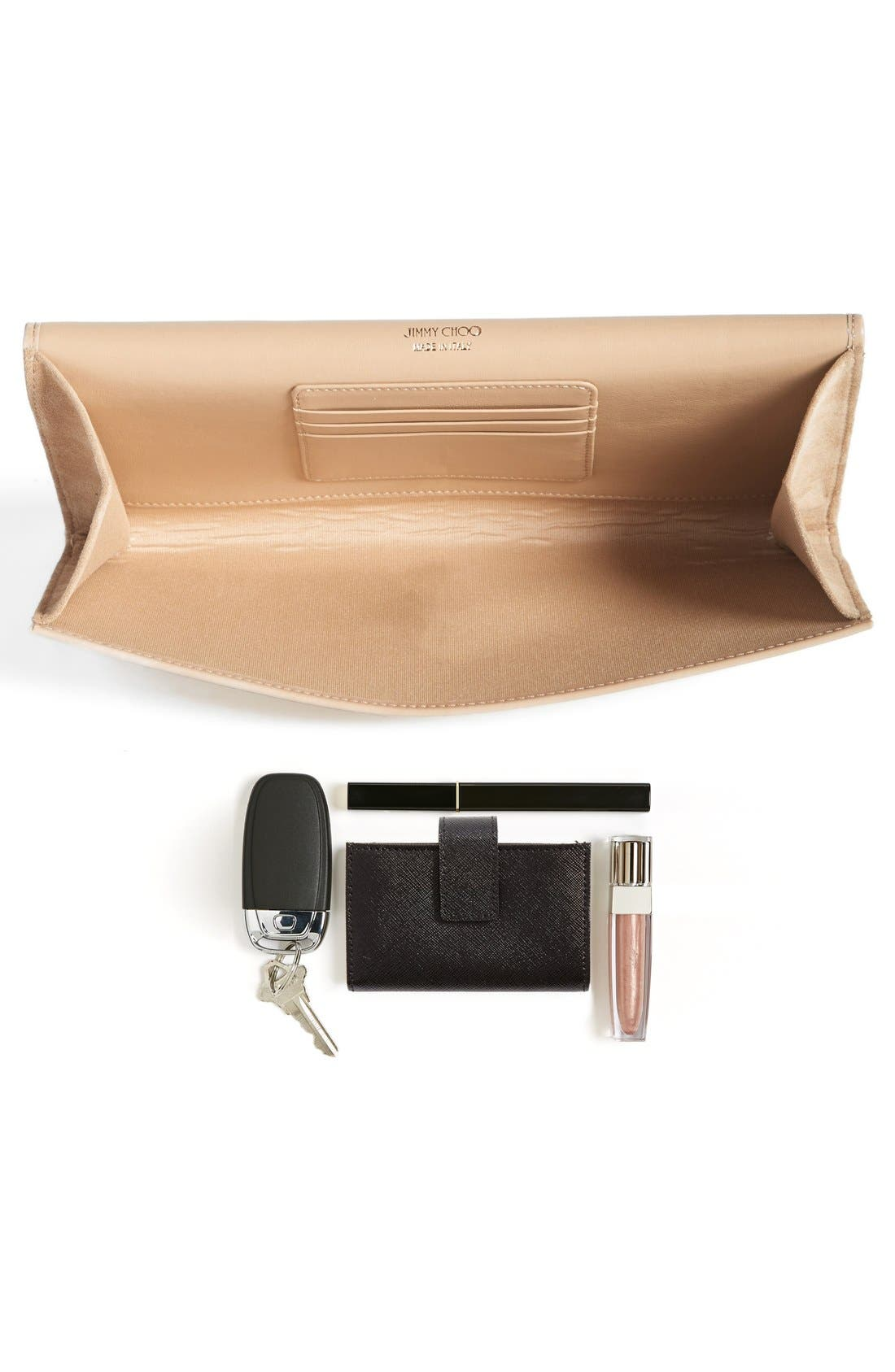 Alternate Image 5  - Jimmy Choo 'Large Maia' Patent Leather Clutch