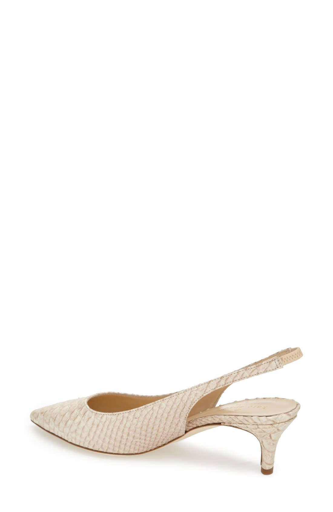 Alternate Image 2  - kate spade new york 'saia' slingback pump