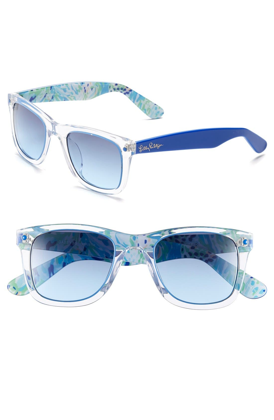 Alternate Image 1 Selected - Lilly Pulitzer® 'Gabby' 49mm Retro Sunglasses
