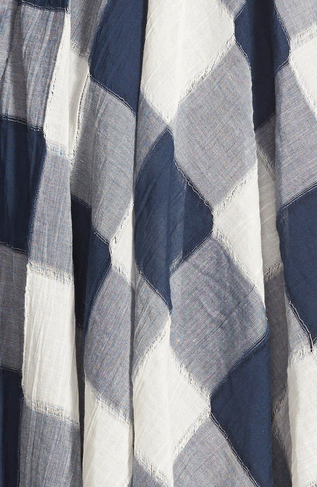 Alternate Image 4  - Storee Handkerchief Hem Halter Dress