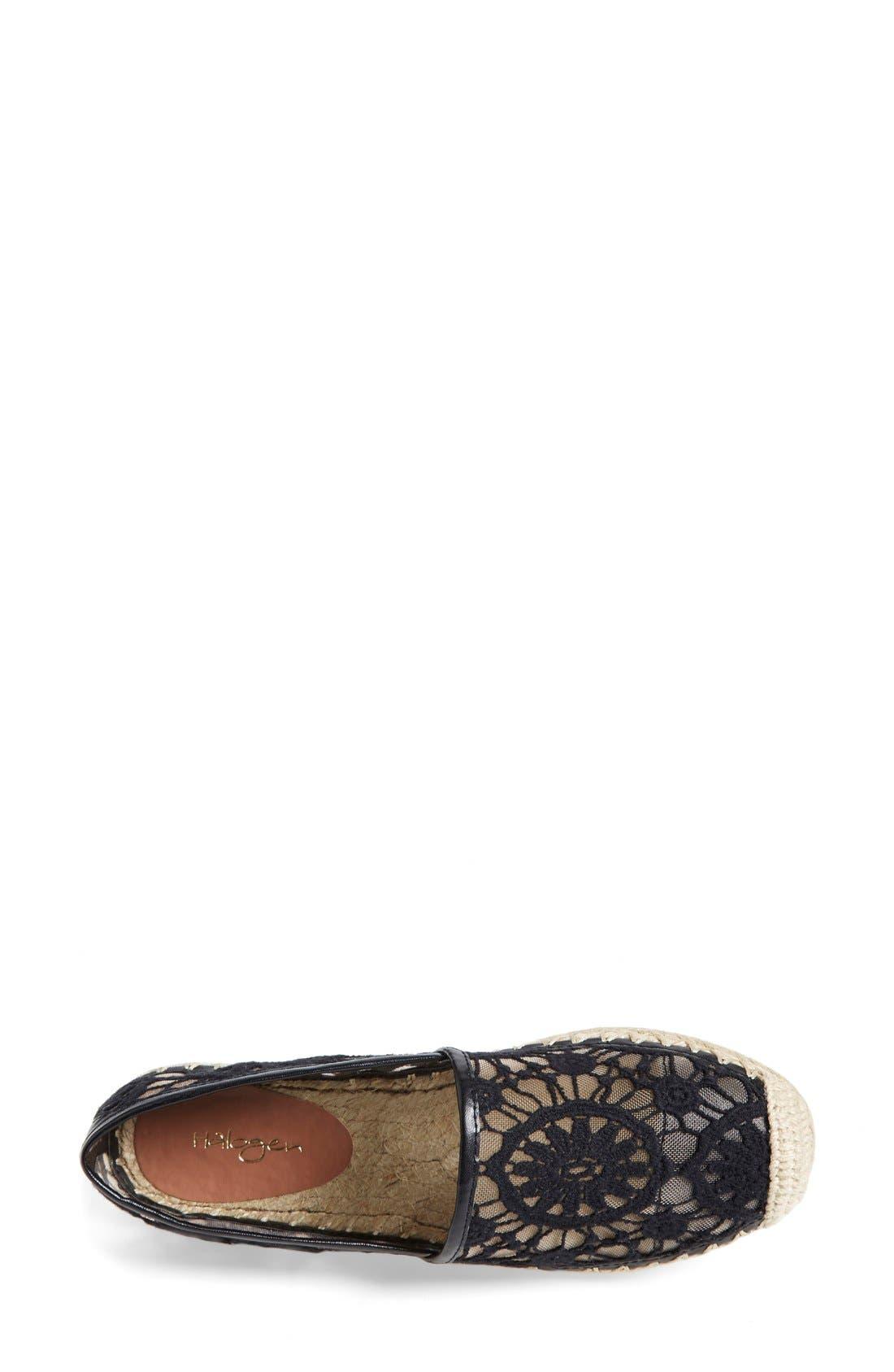 Alternate Image 3  - Halogen® 'Serene' Crochet Lace Espadrille Slip-On (Women)