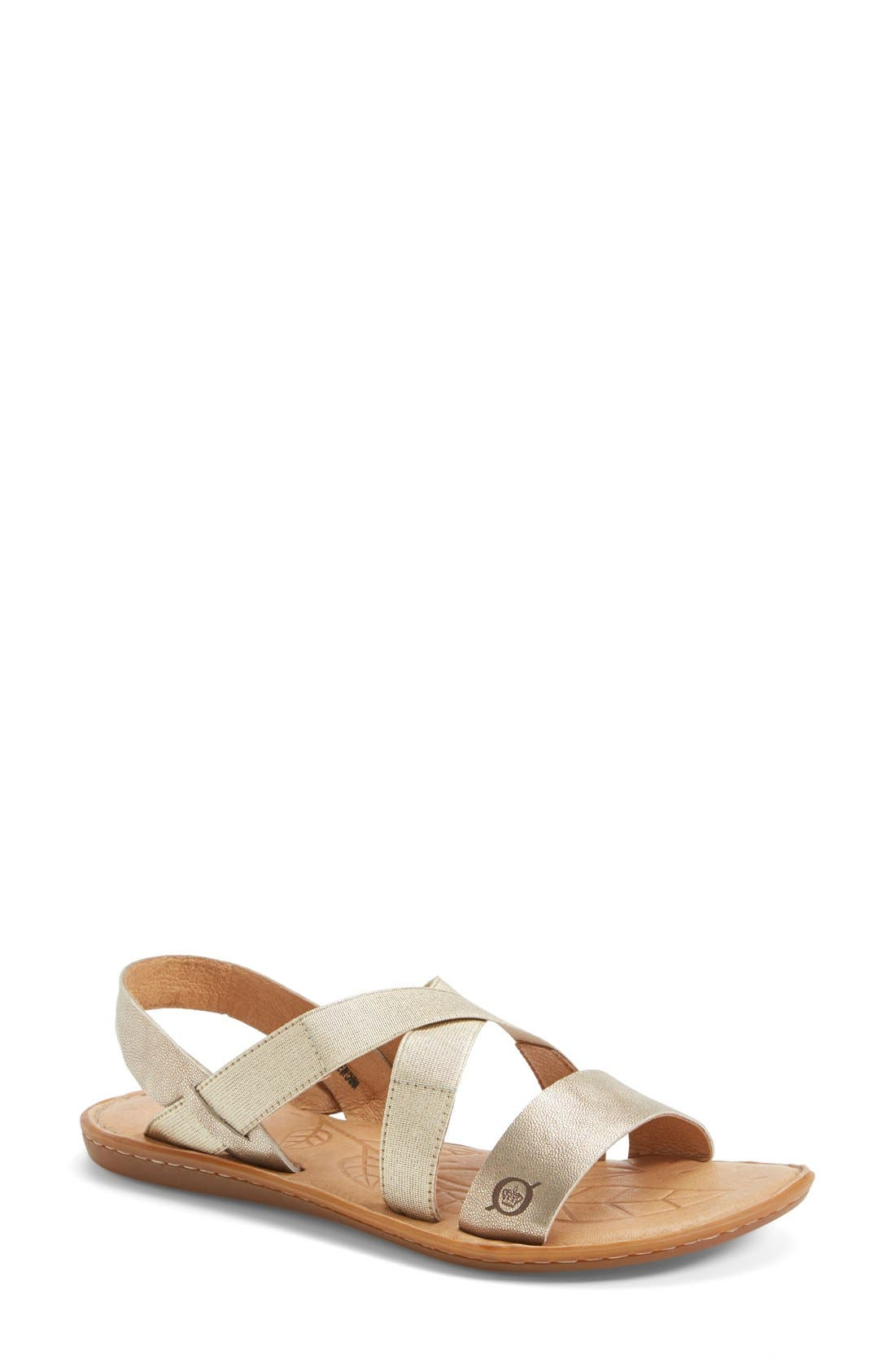 Alternate Image 1 Selected - Børn 'Icelyn' Flat Sandal (Women)