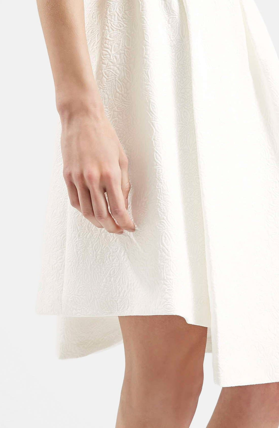 Alternate Image 4  - Topshop Asymmetrical Midi Skirt