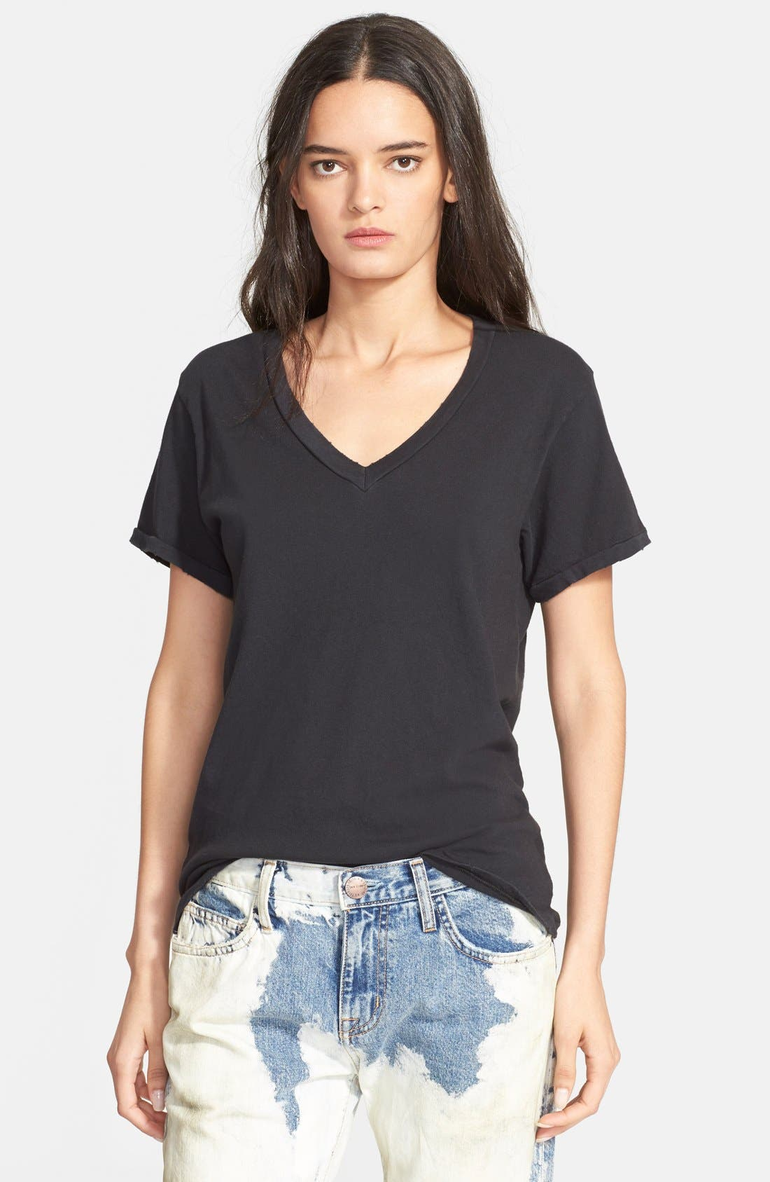 Current/Elliott The V-Neck Tee