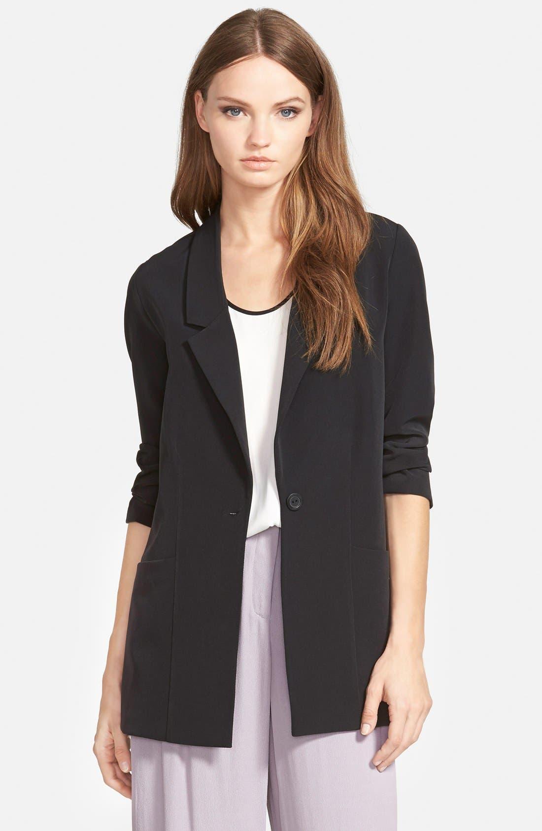 Alternate Image 1 Selected - Trouvé Long Blazer