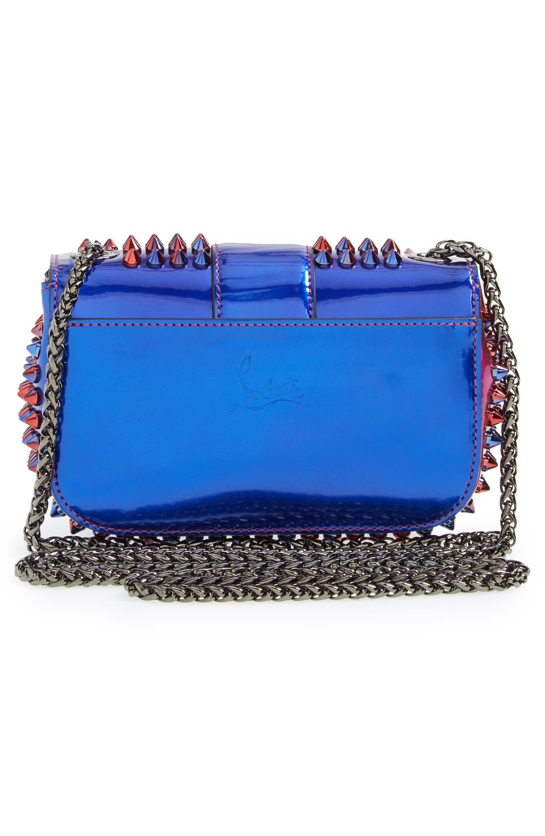 Alternate Image 3  - Christian Louboutin 'Sweety Charity Scarab Spike' Patent Leather Clutch