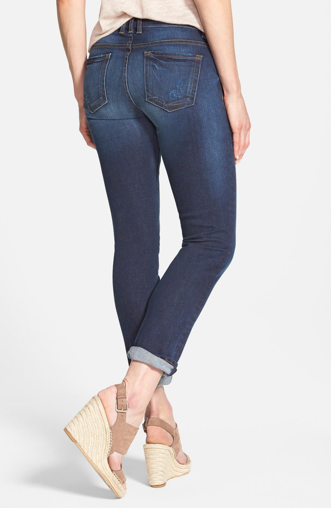 Alternate Image 3  - KUT from the Kloth 'Catherine' Boyfriend Jeans (Easily) (Regular & Petite)