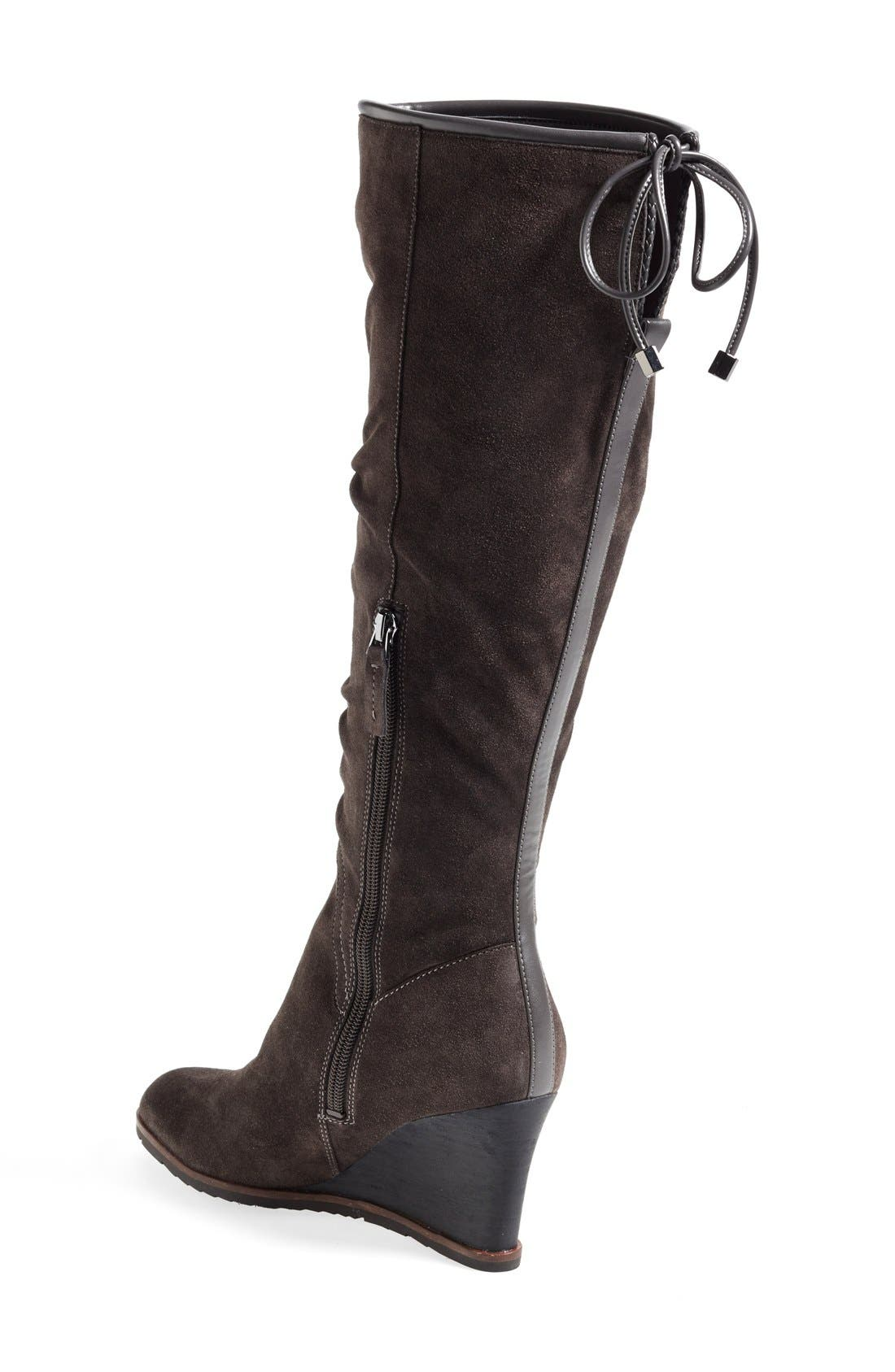 Alternate Image 2  - Franco Sarto 'Dominion' Wedge Boot (Women) (Online Only)