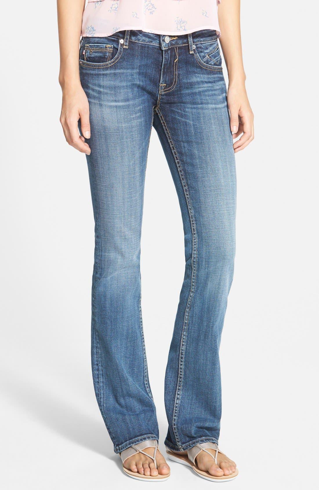 Alternate Image 1 Selected - Vigoss 'NY' Bootcut Jeans (Dark Wash)
