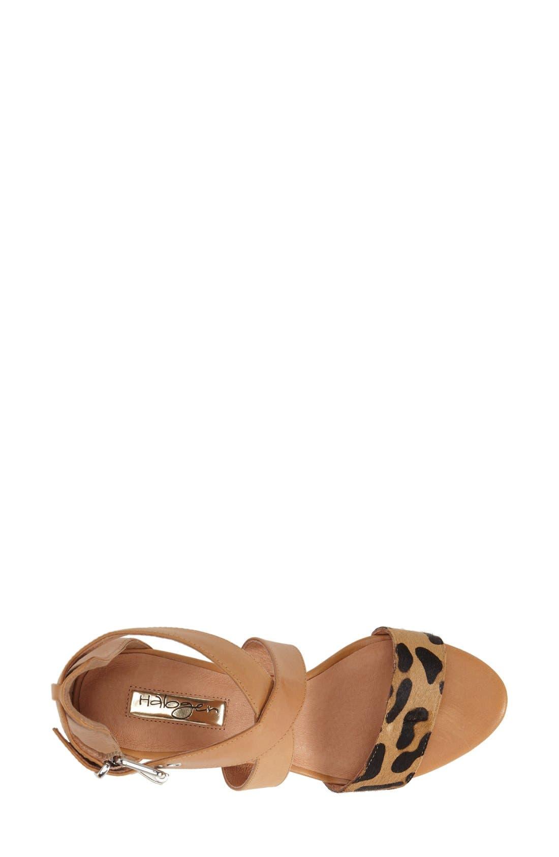 Alternate Image 3  - Halogen 'Rena' Crisscross Strap Sandal (Women)