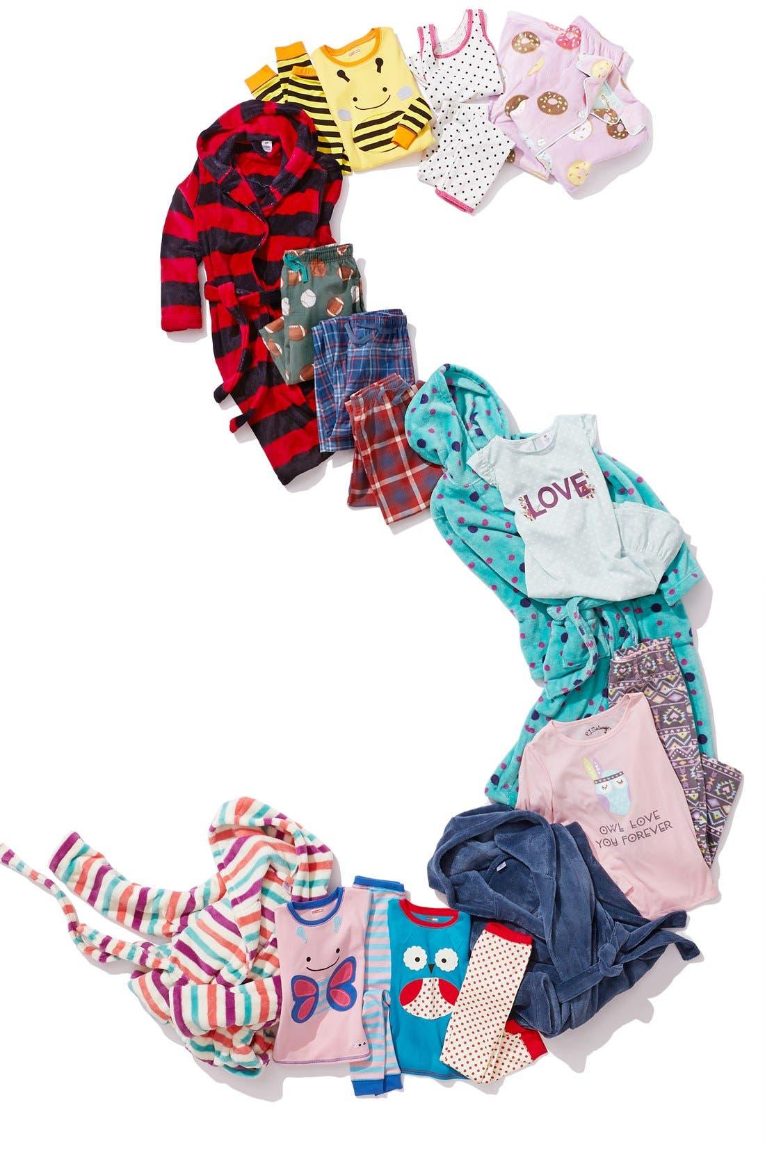 Alternate Image 3  - PJ Salvage 'Donut' Two-Piece Pajamas (Little Girls & Big Girls)