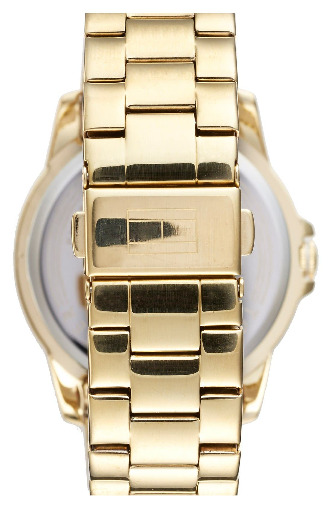Alternate Image 2  - Tommy Hilfiger Multifunction Bracelet Watch, 38mm
