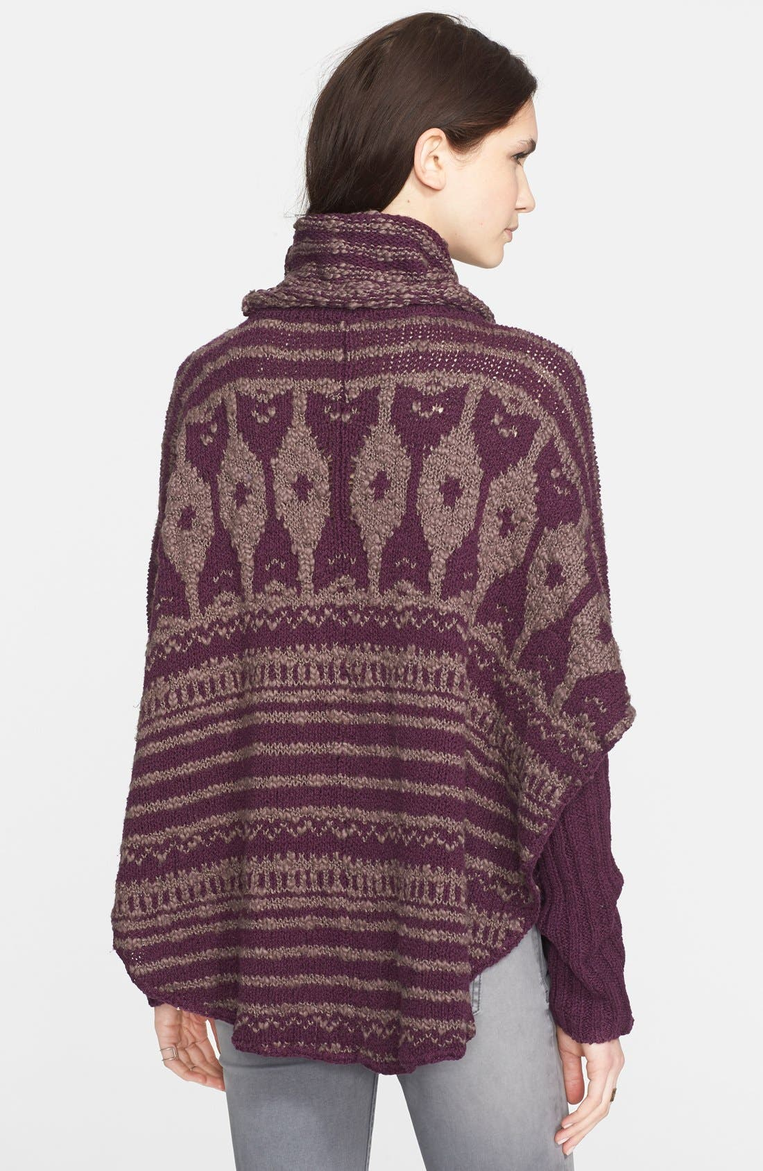 Alternate Image 2  - Free People 'Rosie Lee' Long Sleeve Poncho