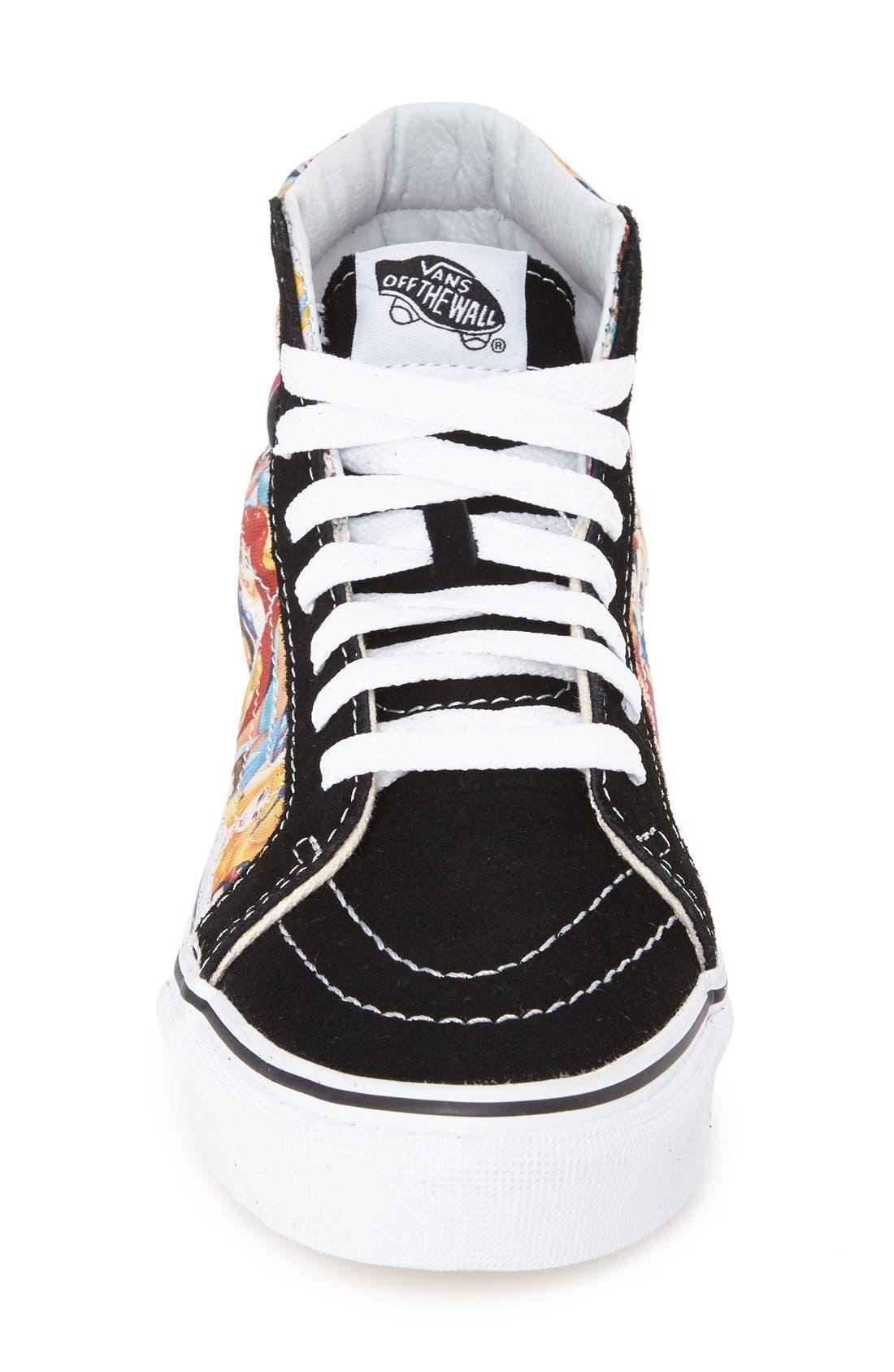 Alternate Image 3  - Vans 'Sk8-Hi Slim - Disney® Princess' Sneaker (Women)
