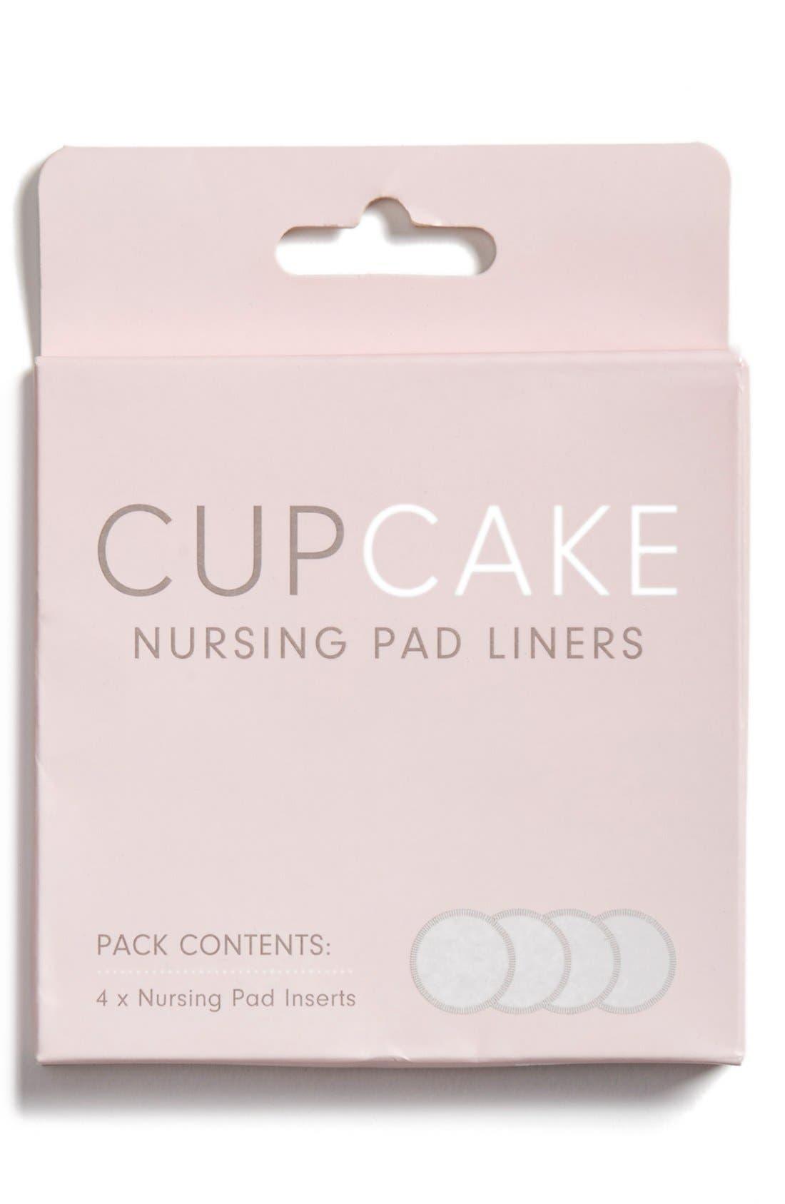 Alternate Image 1 Selected - Cake 'Cupcake' Organic Hemp & Cotton Nursing Pad Liner Inserts (4-Pack)