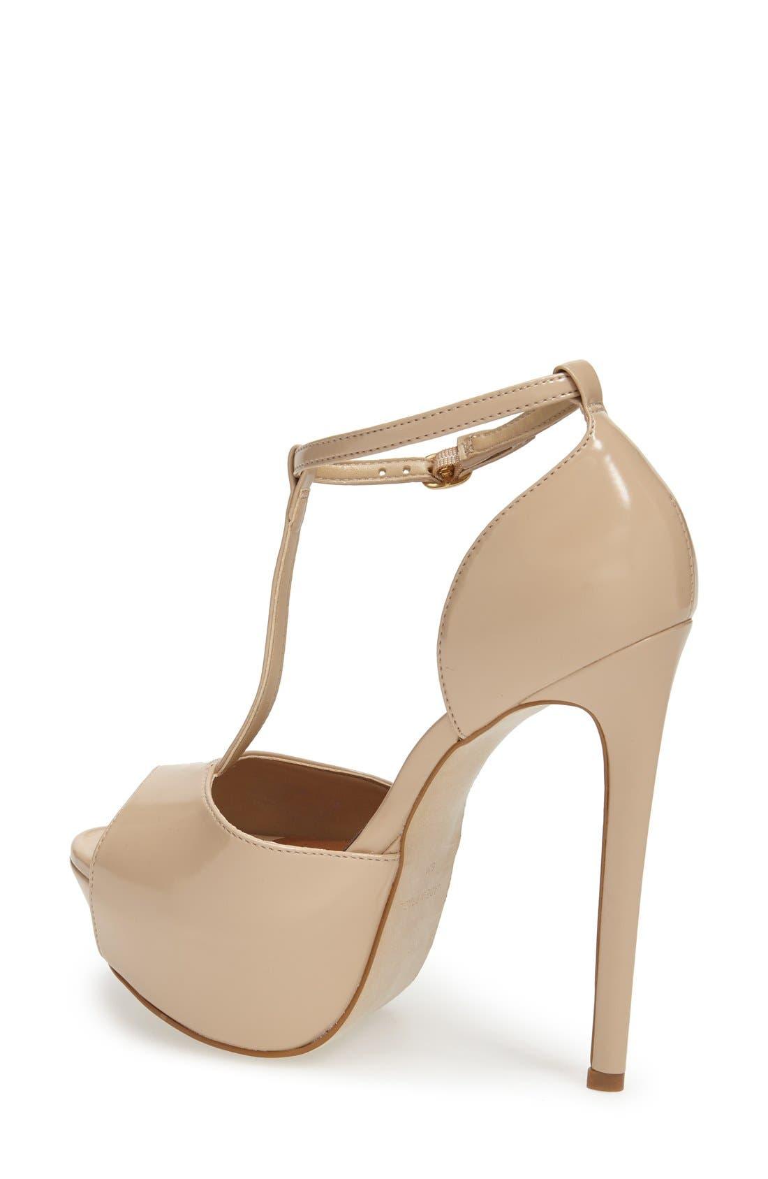 Alternate Image 2  - Steve Madden 'Kriminal' T-Strap Platform Sandal (Women)
