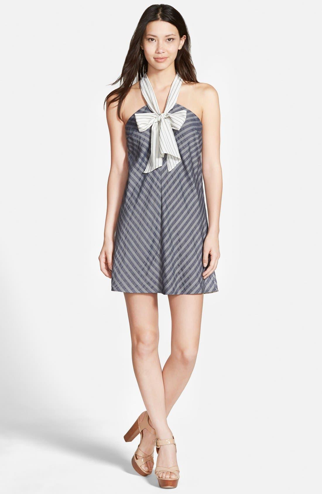 Alternate Image 1 Selected - cooper & ella 'Hannah' Bow Dress
