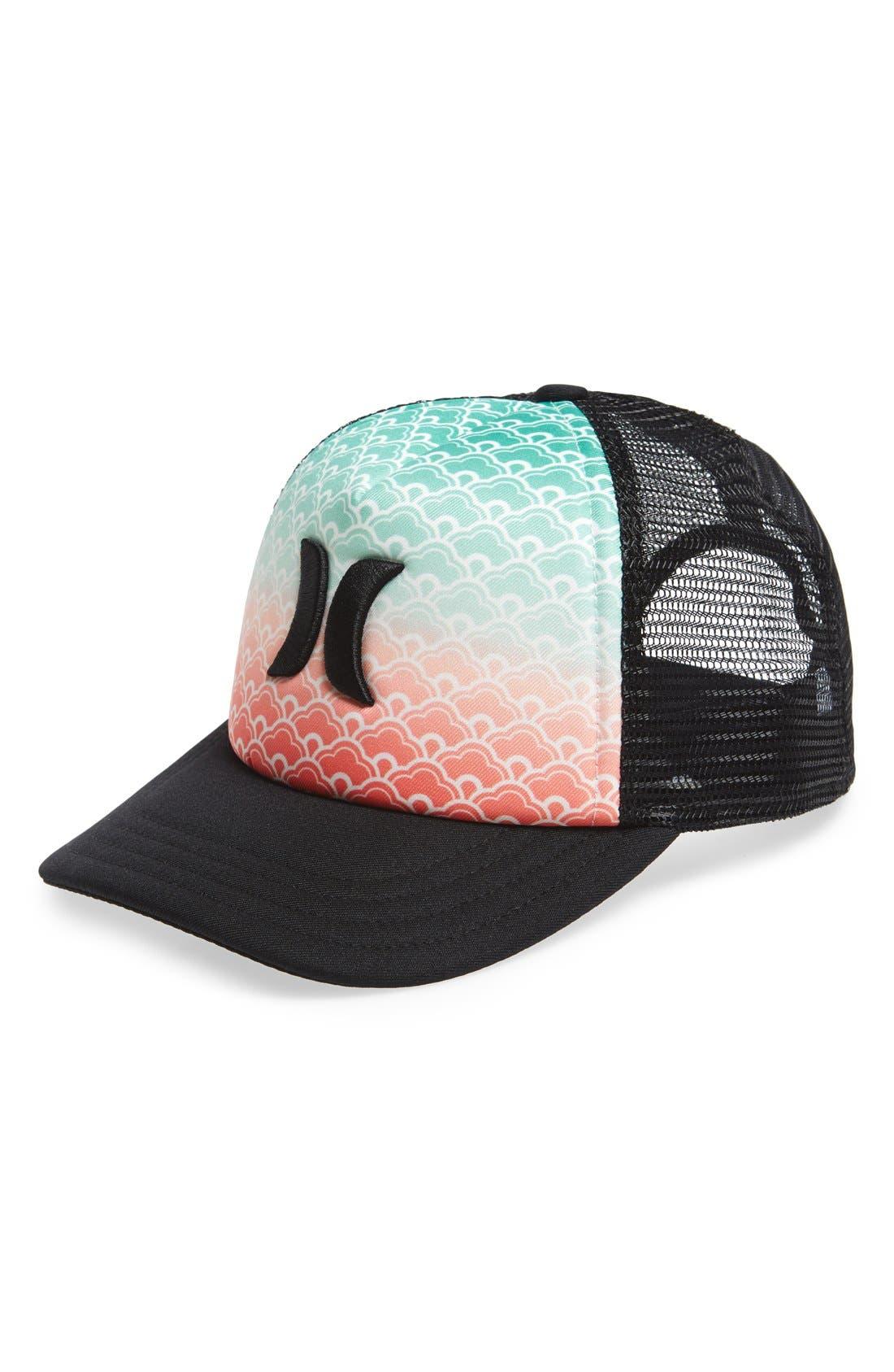 Alternate Image 1 Selected - Hurley 'Americana' Trucker Hat