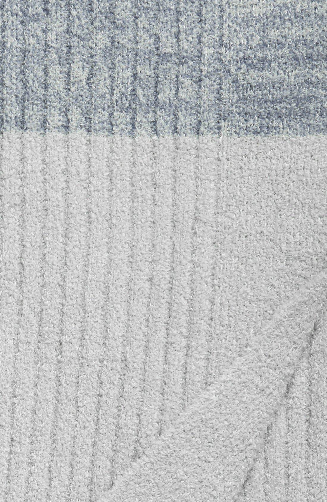 Alternate Image 3  - Barefoot Dreams® Heathered Stripe Throw