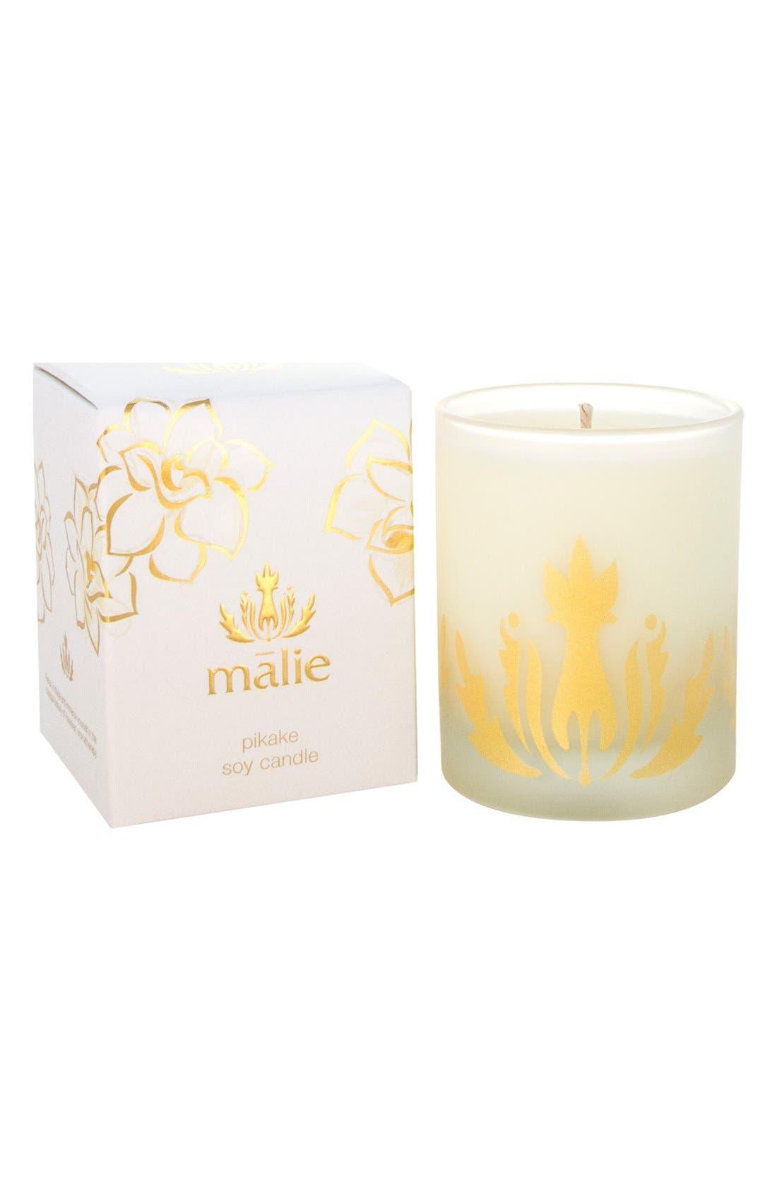 Main Image - Malie Organics 'Pikake' Soy Candle