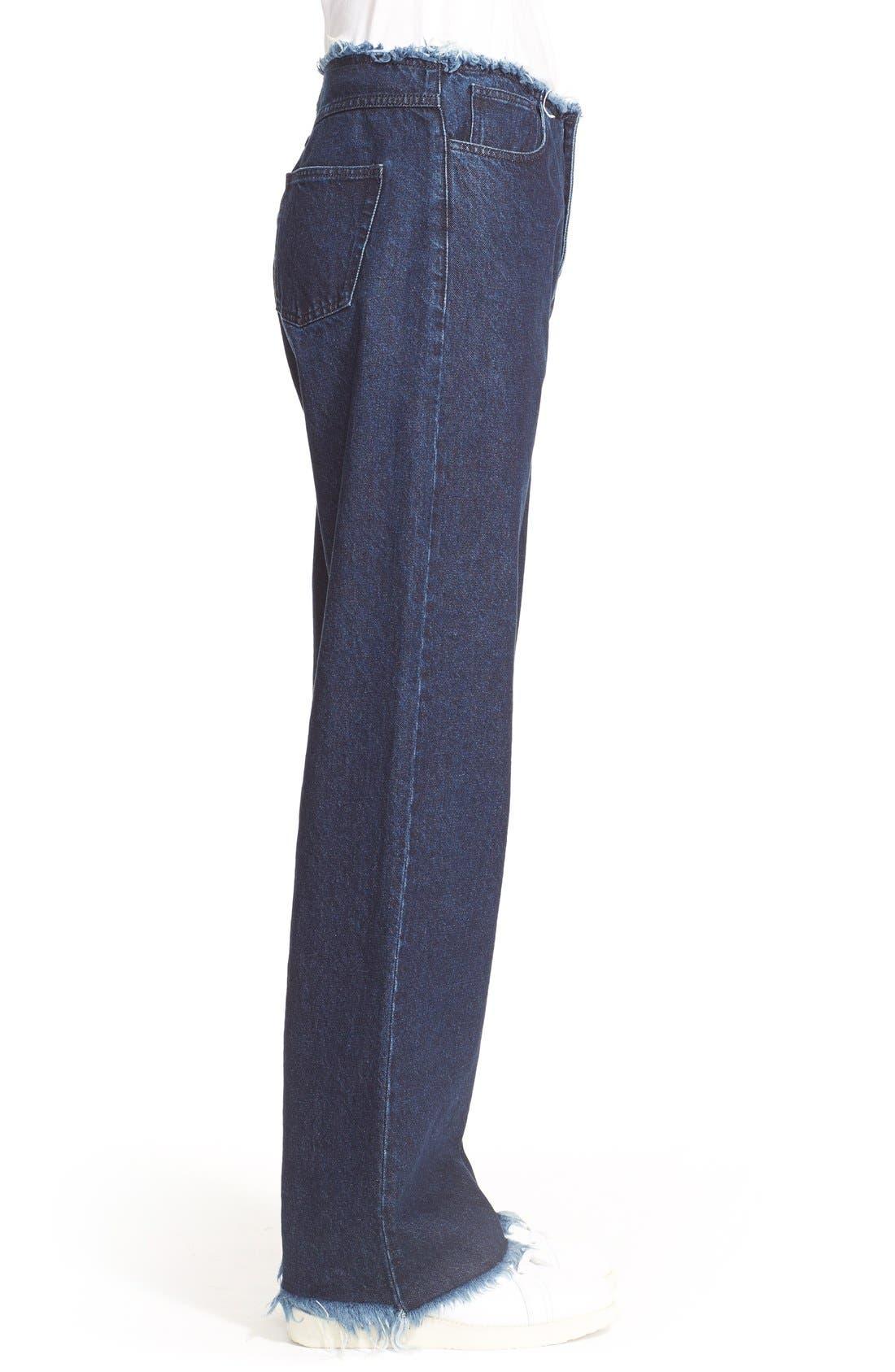 Alternate Image 5  - Marques'Almeida Relaxed Boyfriend Jeans