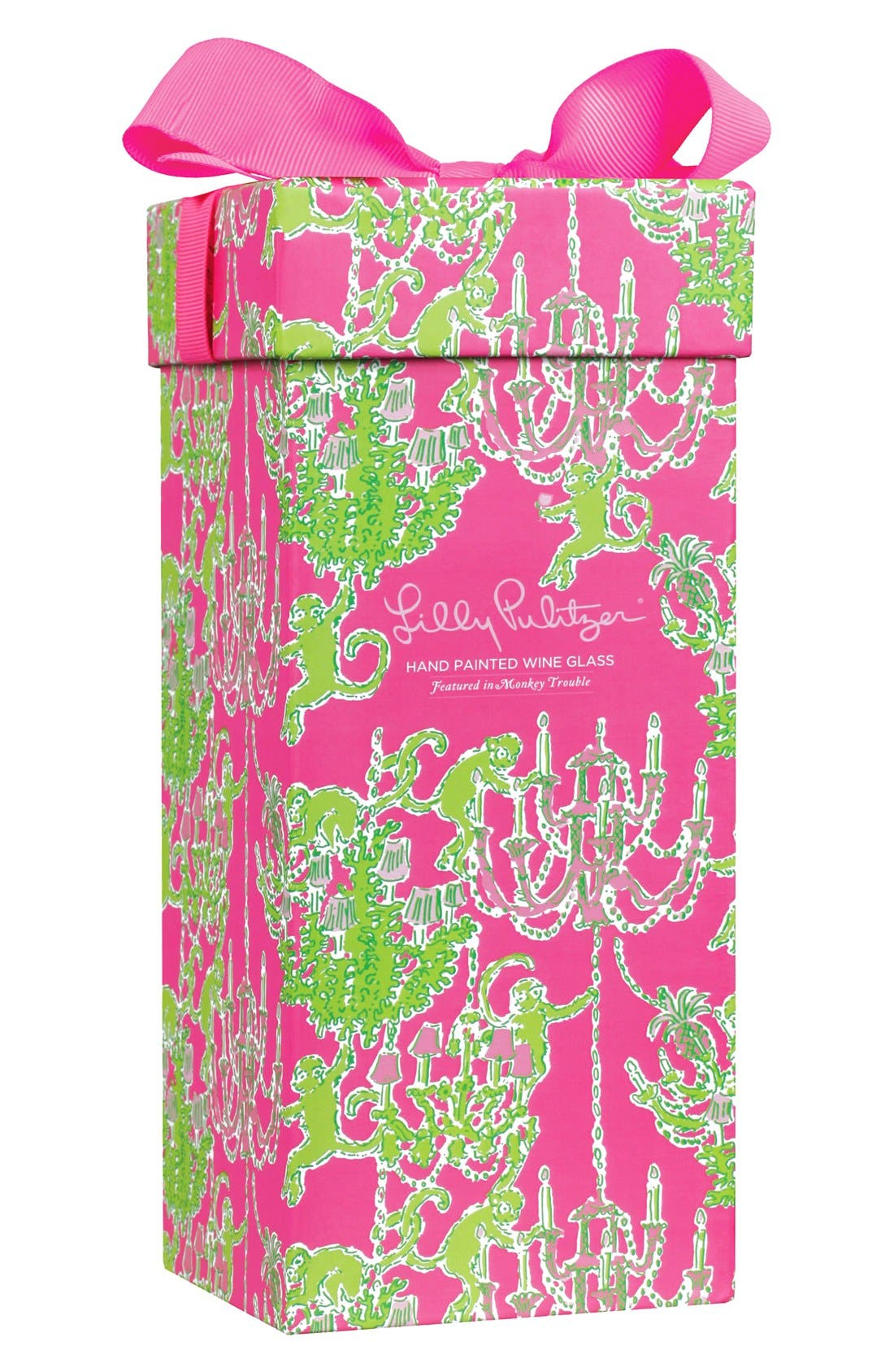 Alternate Image 2  - Lilly Pulitzer® Wine Glass