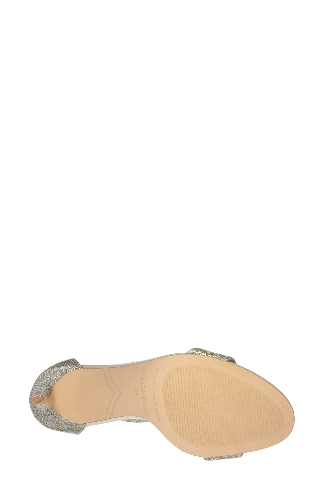 Alternate Image 4  - Enzo Angiolini 'Manna' Ankle Strap Sandal (Women)