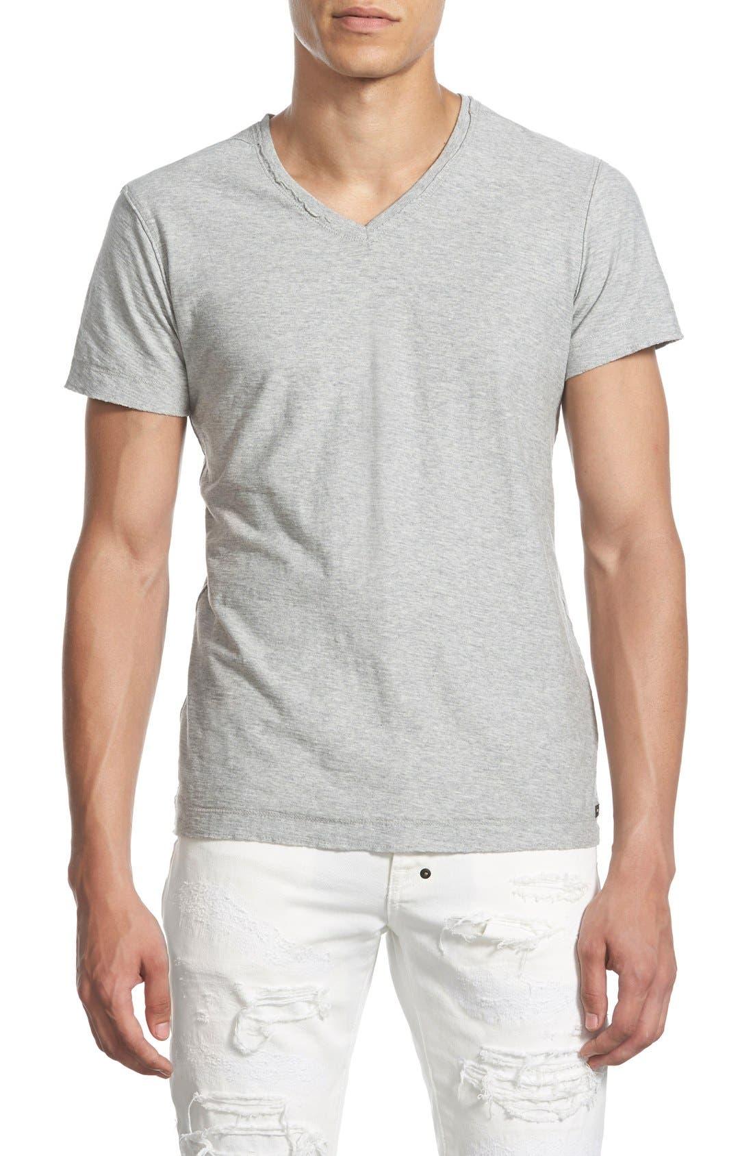 Alternate Image 1 Selected - DIESEL® 'Tossik' V-Neck T-Shirt