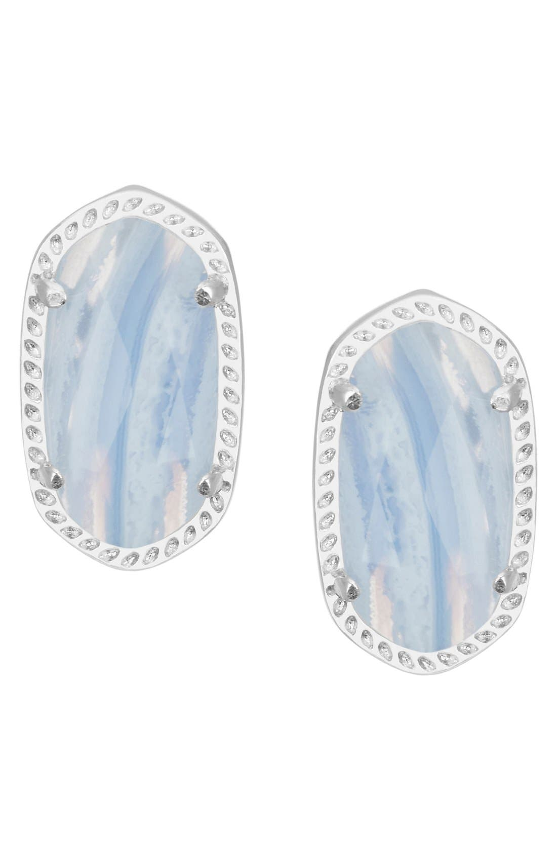 Alternate Image 1 Selected - Kendra Scott Ellie Oval Stud Earrings