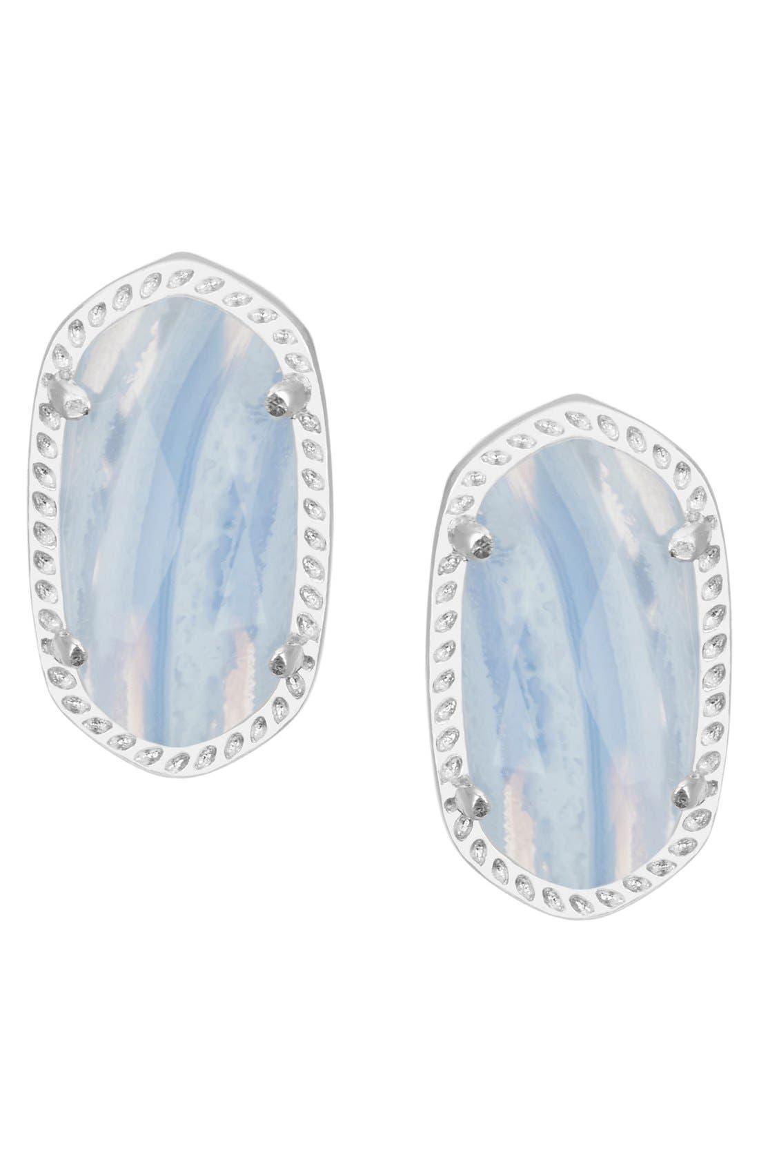 Main Image - Kendra Scott Ellie Oval Stud Earrings
