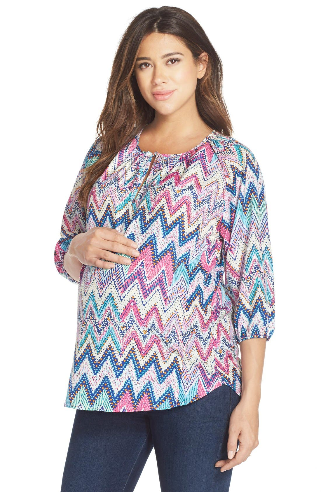 LOYAL HANA 'Megan' Maternity/Nursing Top