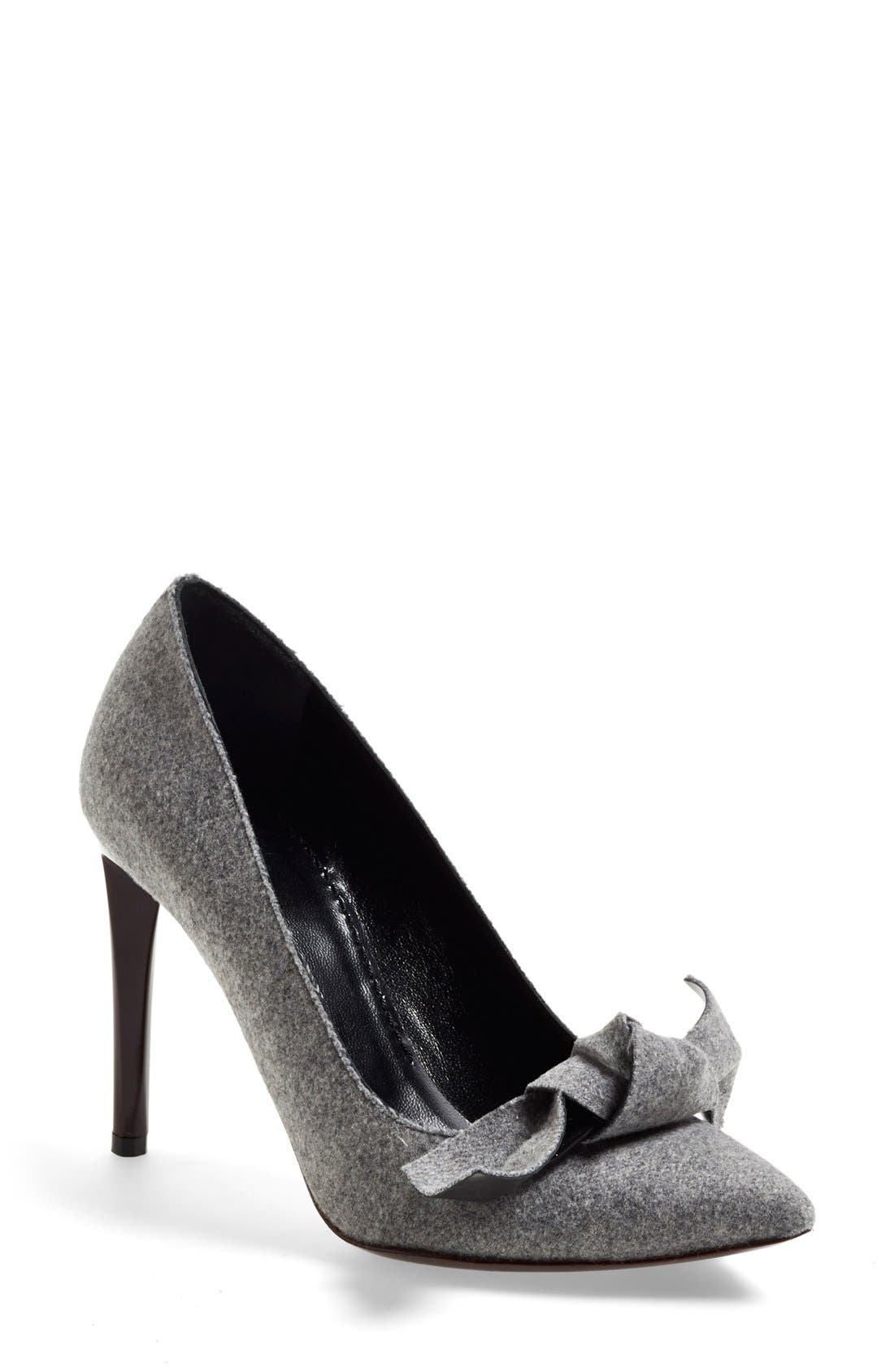 Alternate Image 1 Selected - Proenza Schouler Bow Pointy Toe Pump (Women)