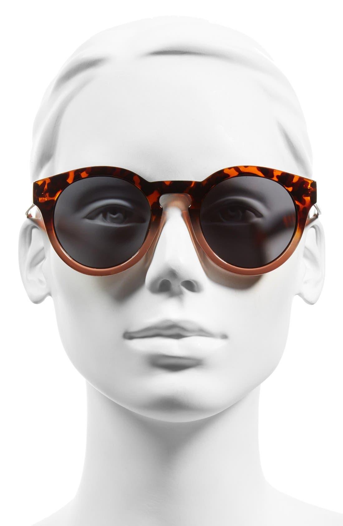 Alternate Image 2  - A.J. Morgan 'Hmmm' 49mm Cat Eye Sunglasses