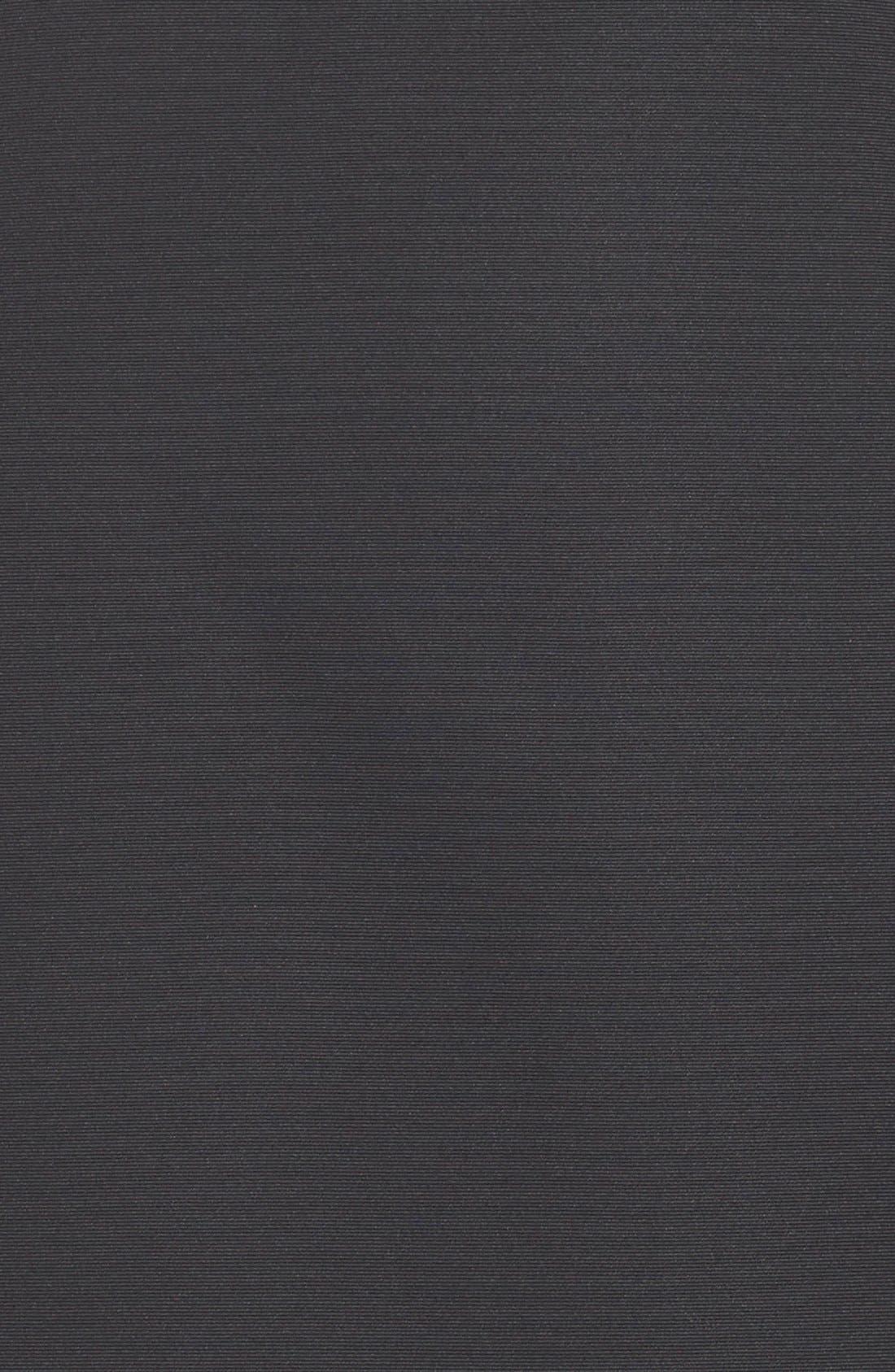 Alternate Image 4  - HalstonHeritage Strapless Satin Fit & Flare Dress