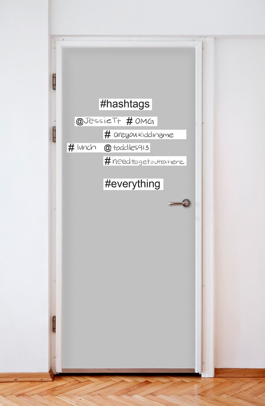 Alternate Image 2  - Wallpops 'Hashtag' Dry Erase Wall Decals (Set of 14)