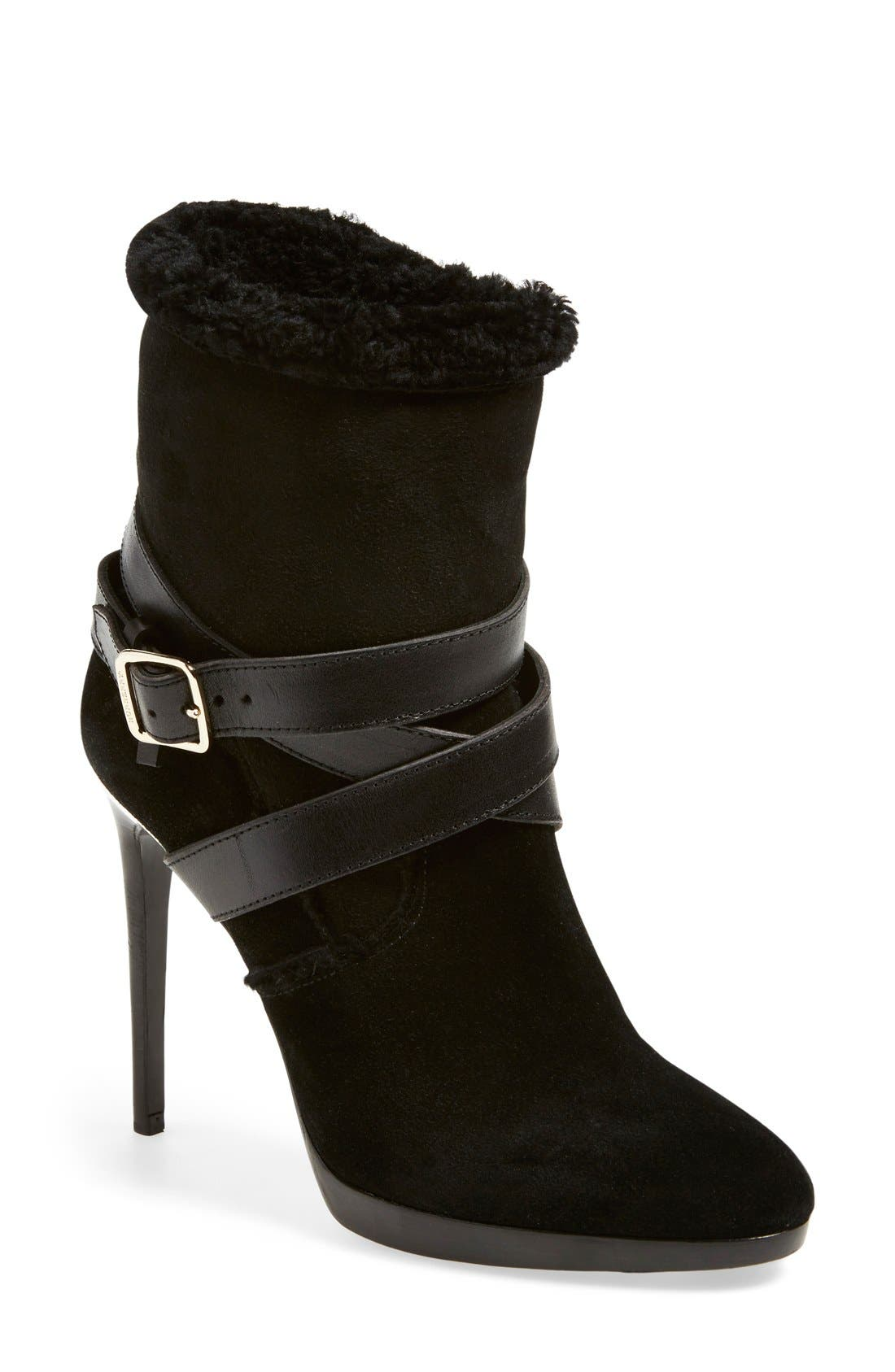 Alternate Image 1 Selected - Burberry 'Cadey' Almond Toe Boot (Women)