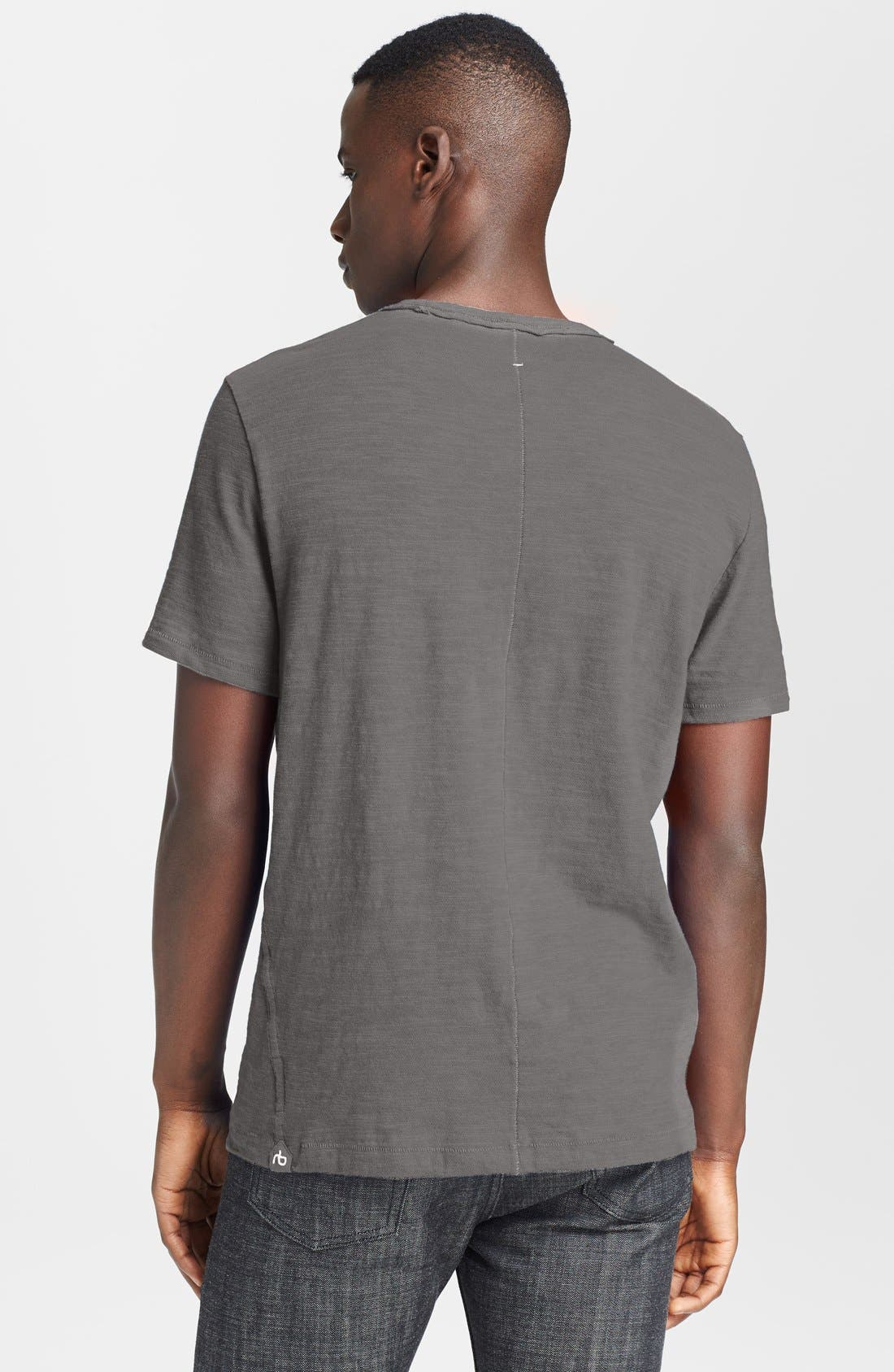 Alternate Image 2  - rag & bone Standard Issue Slubbed Cotton T-Shirt