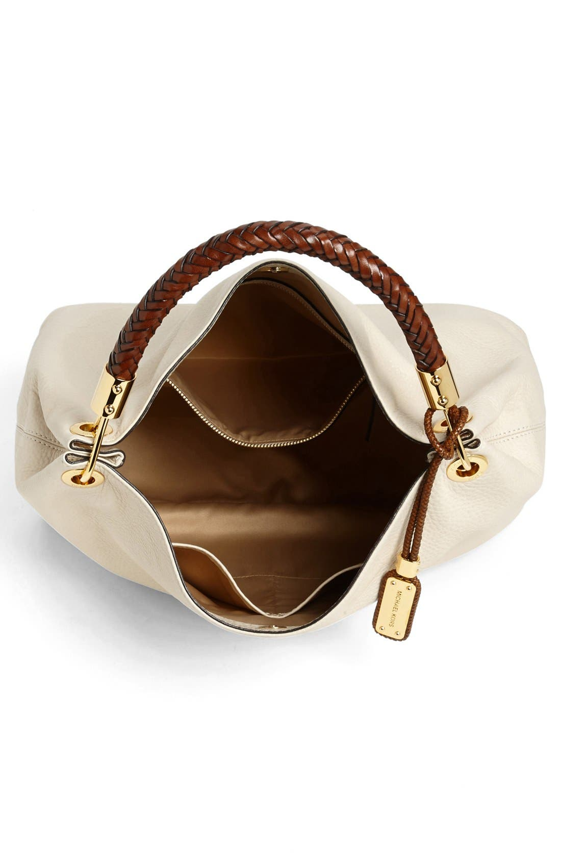 Alternate Image 4  - Michael Kors 'Large Skorpios' Leather Shoulder Bag