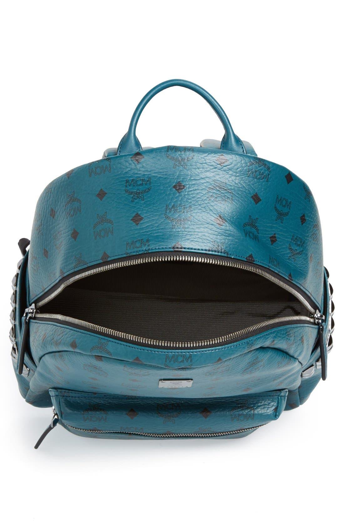 Alternate Image 4  - MCM 'Medium Stark' Side Stud Backpack
