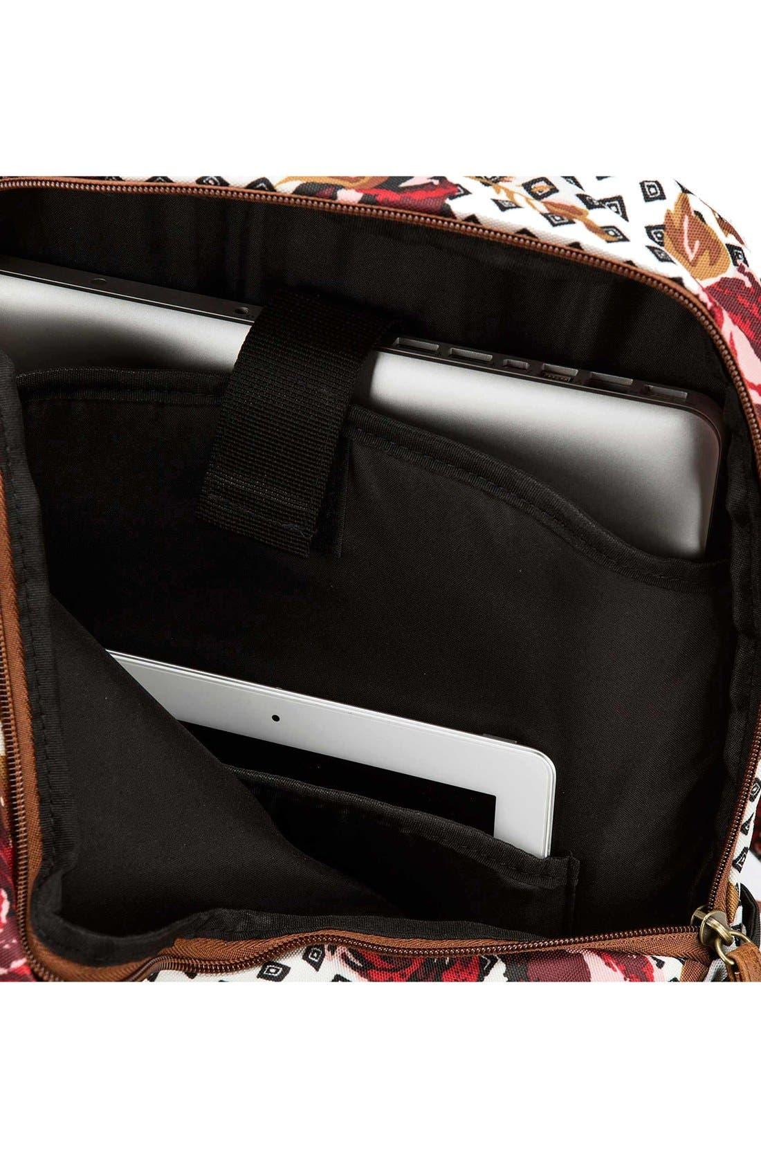 Alternate Image 3  - Volcom 'Fieldtrip' Print Backpack