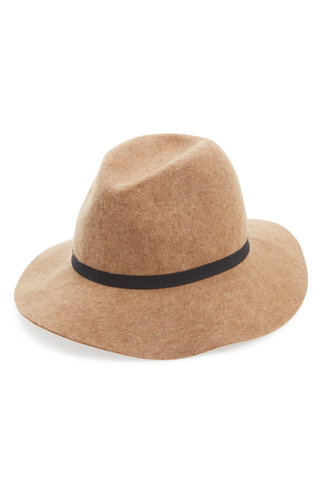 Alternate Image 1 Selected - Hinge Wool Felt Panama Hat