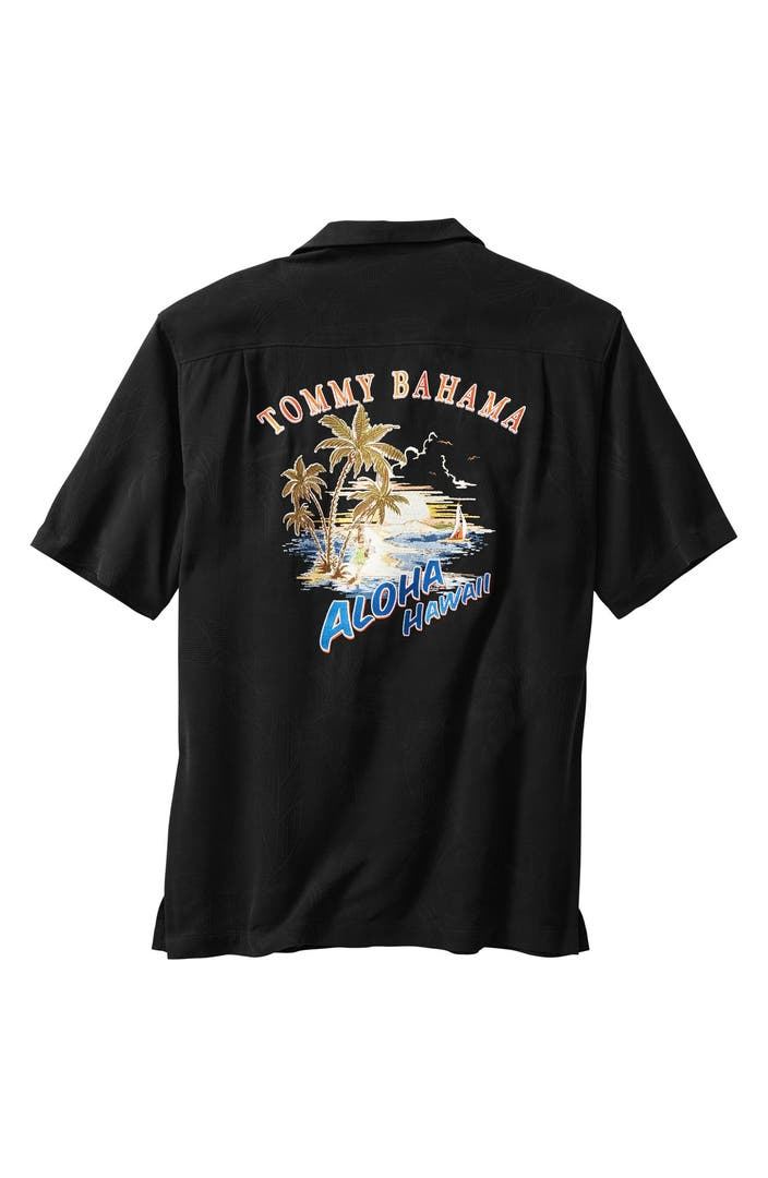 Tommy Bahama 39 Aloha Hawaii 39 Silk Camp Shirt Big Tall