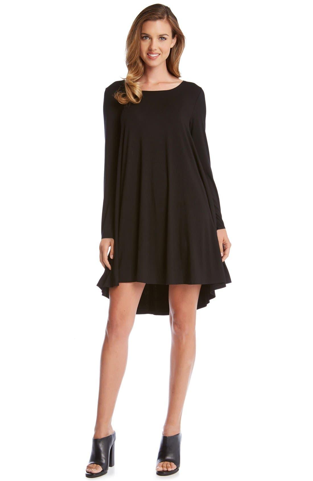 Alternate Image 1 Selected - Karen Kane Jersey Swing Dress